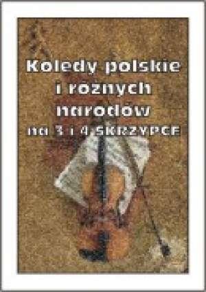 Kolędy polskie i różnych narodów - okładka książki