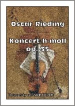 Koncert h-moll op. 35 (na skrzypce) - okładka książki