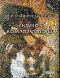 Leksykon kompozytorów - Liliana - okładka książki