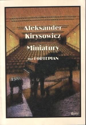 Miniatury na Fortepian - okładka książki