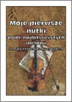 Moje pierwsze nutki na Skrzypce - okładka książki