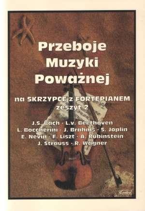 Przeboje muzyki poważnej na Skrzypce - okładka książki