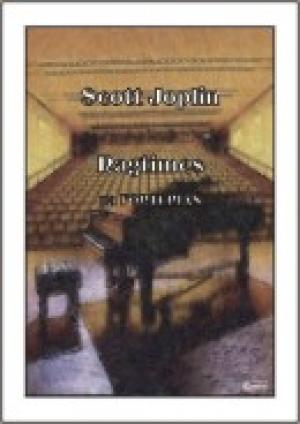 Ragtimes (na fortepian) - okładka książki
