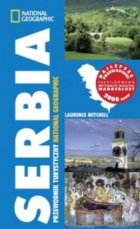 Serbia. Przewodnik turystyczny - okładka książki