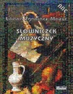 Słowniczek muzyczny - okładka podręcznika
