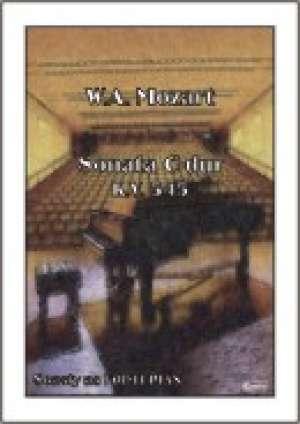 Sonata C-dur KV 545 (na fortepian) - okładka książki