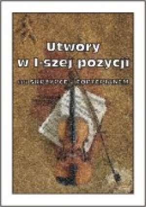 Utwory w I-szej pozycji na Skrzypce - okładka książki