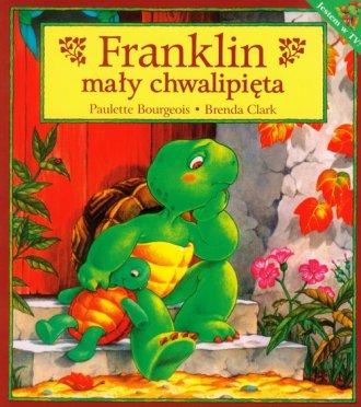 Franklin mały chwalipięta - okładka książki