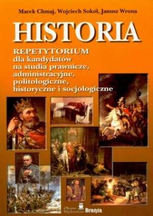 Historia. Repetytorium dla kandydatów - okładka podręcznika