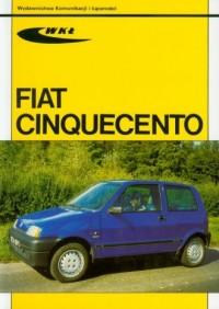 Fiat cinquecento - Wydawnictwo - okładka książki