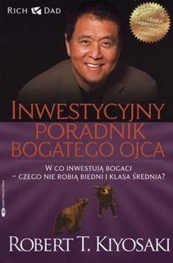 Inwestycyjny poradnik bogatego - okładka książki