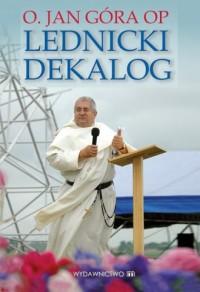 Lednicki dekalog - okładka książki