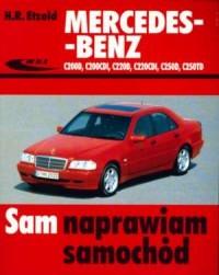 Mercedes-Benz C200D, C200CDI, C220D, - okładka książki