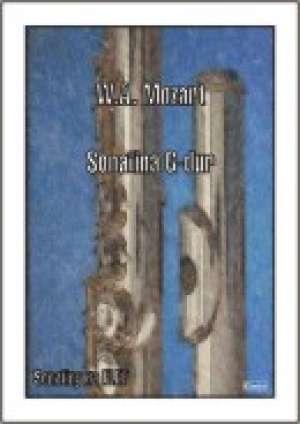 Sonatina G - dur (na flet) - okładka książki