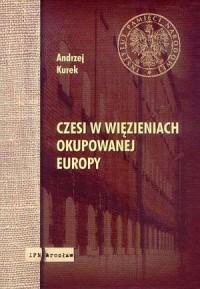 Czesi w więzieniach okupowanej - okładka książki