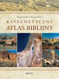 Katechetyczny atlas biblijny - - zdjęcie reprintu, mapy