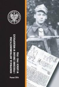 Konspiracja antykomunistyczna i podziemie zbrojne w Wielkopolsce w latach 1945-1956. Seria: Studia i Materiały Poznańskiego IPN. Tom XXXIII - okładka książki