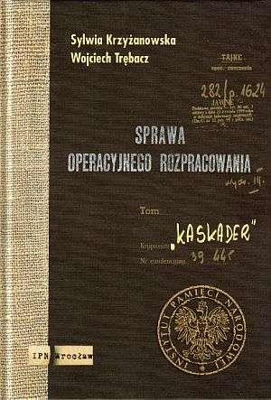 Sprawa Operacyjnego Rozpracowania - okładka książki