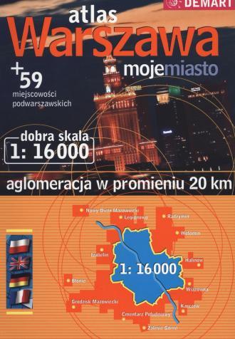 Warszawa, moje miasto plus 59 - - zdjęcie reprintu, mapy