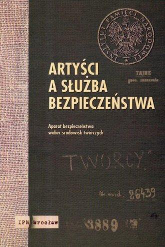 Artyści a Służba Bezpieczeństwa. - okładka książki