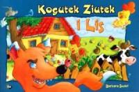 Kogutek Ziutek i lis - okładka książki