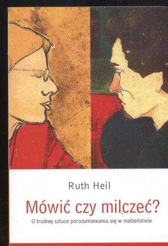 Mówić czy milczeć? - okładka książki