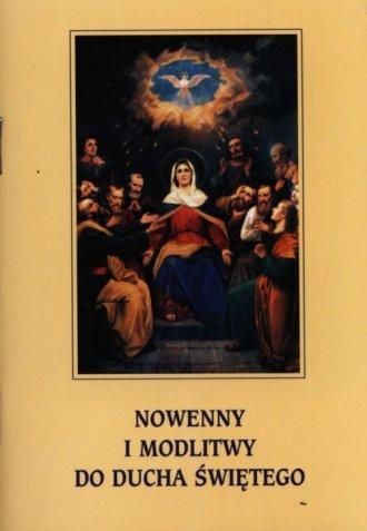 Nowenny i modlitwy do Ducha Świętego - okładka książki