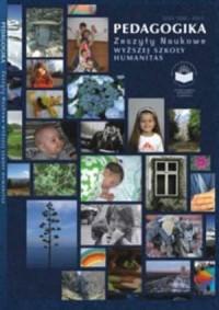 Pedagogika 2/2007. Zeszyty naukowe Wyższej Szkoły Humanitas - okładka książki