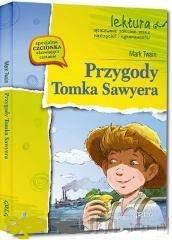 Przygody Tomka Sawyera. Lektura. - okładka podręcznika