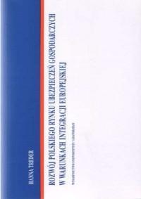 Rozwój polskiego rynku ubezpieczeń - okładka książki