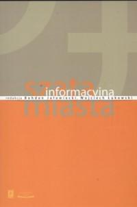 Szata informacyjna miasta - okładka książki