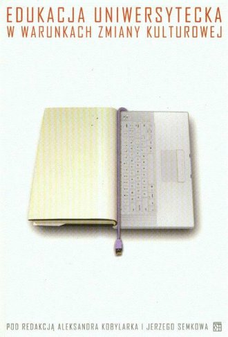 Edukacja uniwersytecka w warunkach - okładka książki