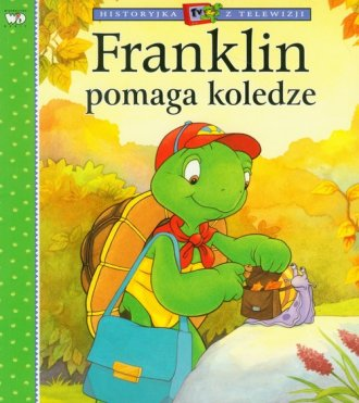 Franklin pomaga koledze - okładka książki