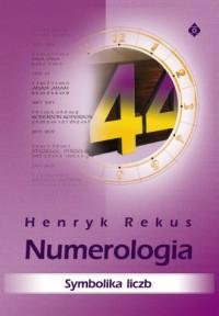 Numerologia. Symbolika liczb - okładka książki