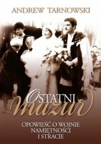 Ostatni Mazur - okładka książki