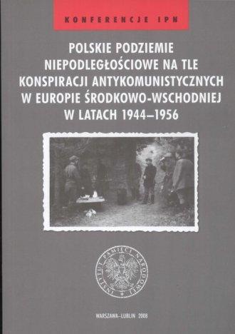 Polskie podziemie niepodległościowe - okładka książki