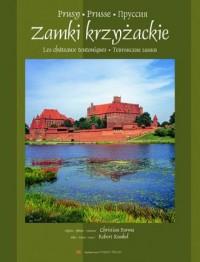 Zamki krzyżackie (wersja polsko francusko rosyjska) - okładka książki