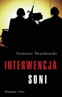 Interwencja Soni - okładka książki