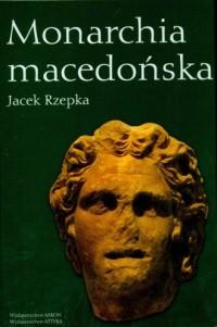 Monarchia macedońska - okładka książki