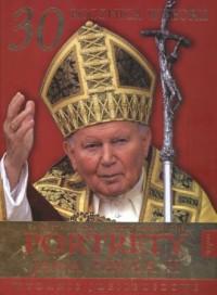 Portrety Jana Pawła II - okładka książki