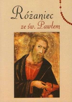 Różaniec ze św. Pawłem - okładka książki