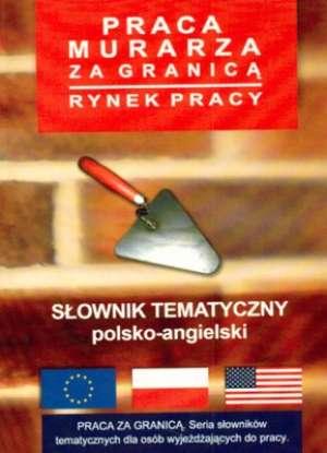 Słownik tematyczny polsko-angielski. - okładka książki