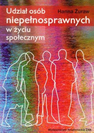 Udział osób niepełnosprawnych w - okładka książki