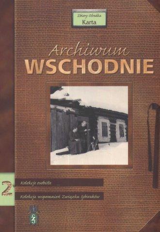 Archiwum Wschodnie cz. 2. Kolekcje - okładka książki