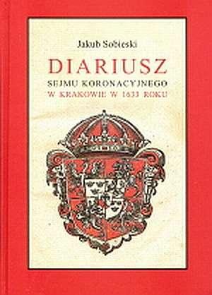 Diariusz sejmu koronacyjnego w - okładka książki