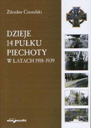 Dzieje 14 Pułku Piechoty w latach - okładka książki