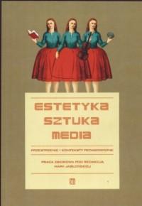 Estetyka - sztuka - media - okładka książki