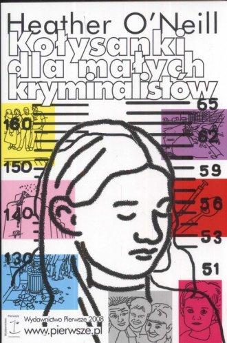 Kołysanki dla małych kryminalistów - okładka książki