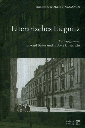 Literarisches Liegnitz - okładka książki
