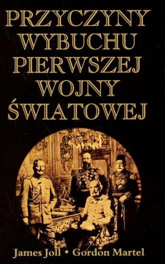 Przyczyny wybuchu pierwszej wojny - okładka książki